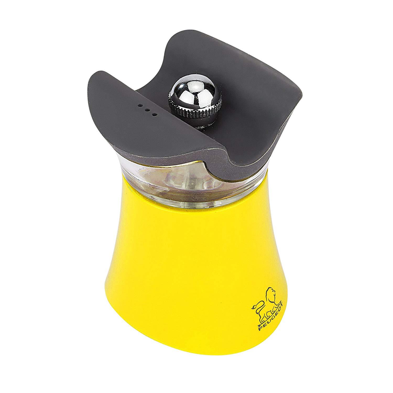 Онлайн каталог PROMENU: Мельница для перца с солонкой 2 в 1 Peugeot PEP'S, 8 см, желтый                               30896