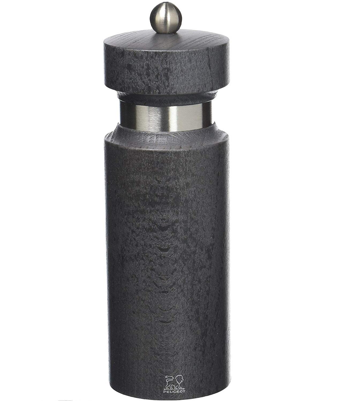 Онлайн каталог PROMENU: Мельница для соли механическая Peugeot ROYAN, 6x6x18 см, серый                               34511