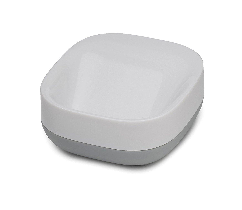 Онлайн каталог PROMENU: Мыльница пластиковая для ванной Joseph Joseph BATHROOM, 8.4х7,1х3,6 см, серый Joseph Joseph 70511