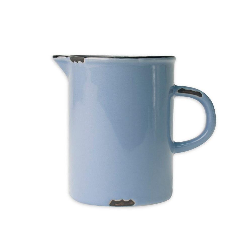 Онлайн каталог PROMENU: Молочник с черной окантовкой Canvas Home Tinware, диаметр 6,4 см, висота 8,3 см, голубой                               C28-CR-CB