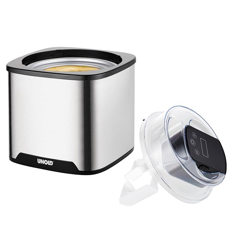Мороженица электрическая Unold  ICE CREAM MAKER Gelato, объем 1,5 л, серебристый Unold 48855 фото 2