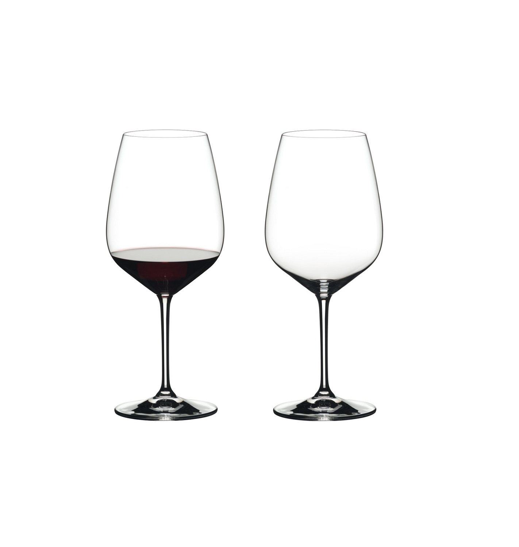 Онлайн каталог PROMENU: Набор из 2 бокалов для красного вина Cabernet-Sauvignon Riedel HEART TO HEART, объем 0,8 л, высота 24,7 см, 2 штуки                               6409/0