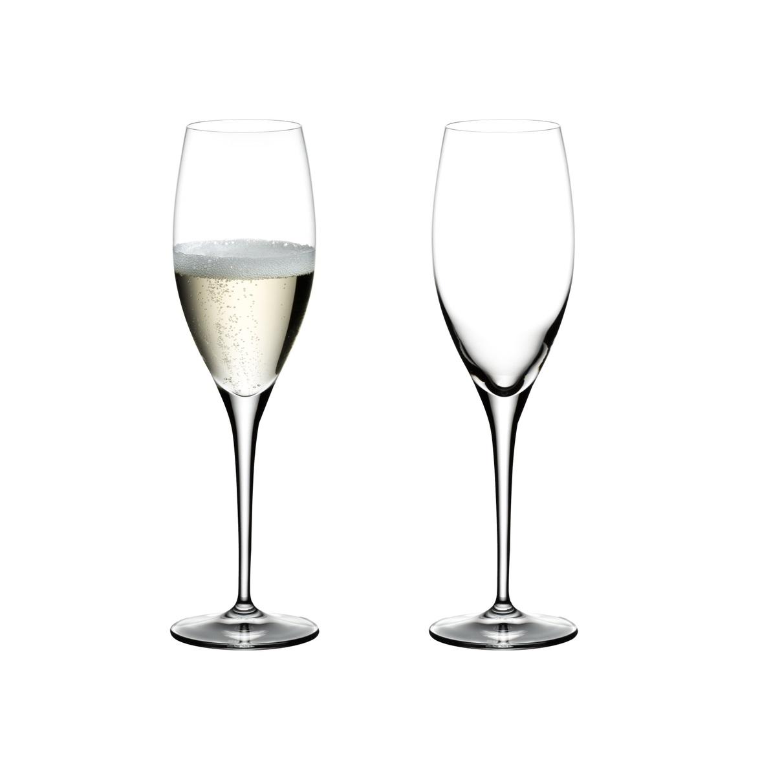 Онлайн каталог PROMENU: Набор из 2 бокалов для шампанского Riedel HEART TO HEART, объем 0,33 л, высота 24,5 см, 2 штуки                               6409/08