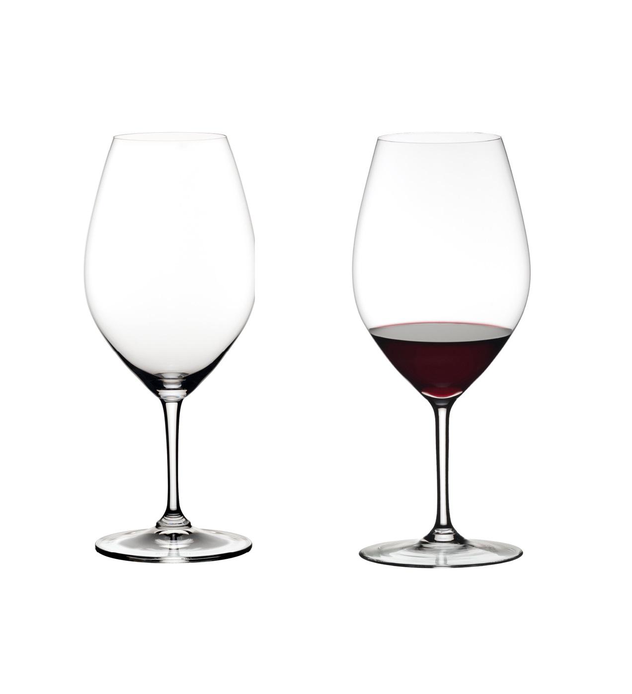 Онлайн каталог PROMENU: Набор бокалов для красного вина DOUBLE MAGNUM Riedel OUVERTURE, объем 0,995 л, высота 26,1 см, прозрачный, 2 штуки                               6408/01