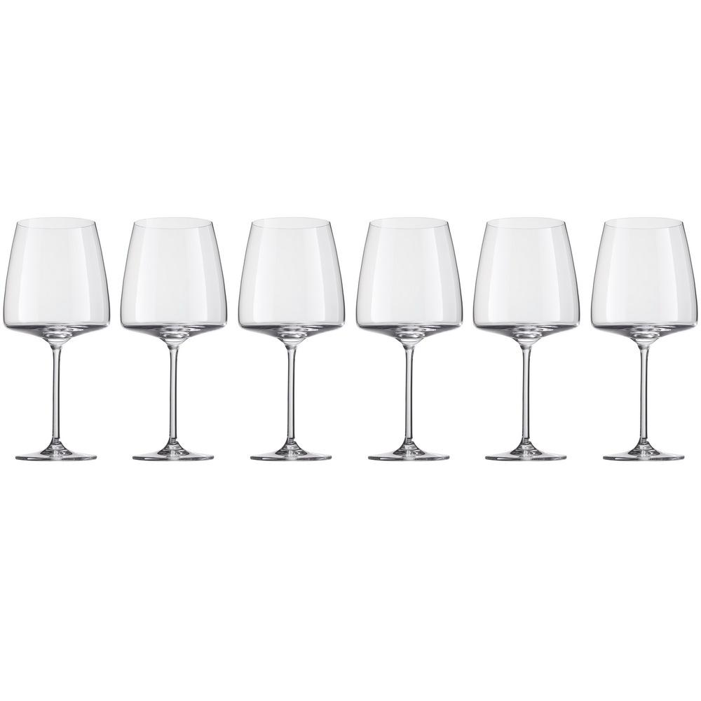Онлайн каталог PROMENU: Набор бокалов для красного вина Schott Zwiesel SENSA, объем 0,71 л, прозрачный,  6 штук Schott Zwiesel 120595_6шт