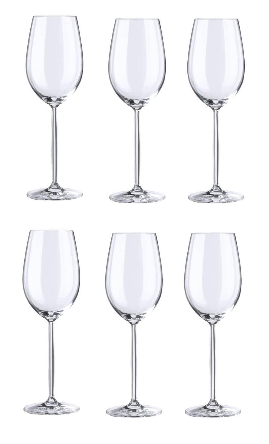 Онлайн каталог PROMENU: Набор бокалов для белого вина Schott Zwiesel Diva, объем 0,302 л, 6 шт.                                   104097_6шт