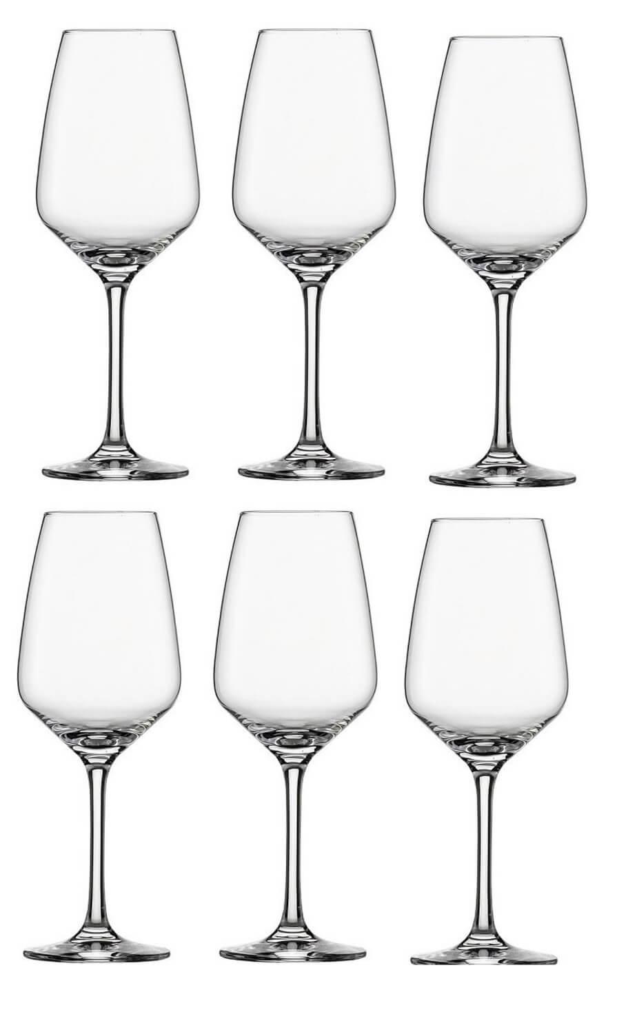 Онлайн каталог PROMENU: Набор бокалов для белого вина Schott Zwiesel Taste, объем 0,356 л, 6 шт.                                   115670_6шт