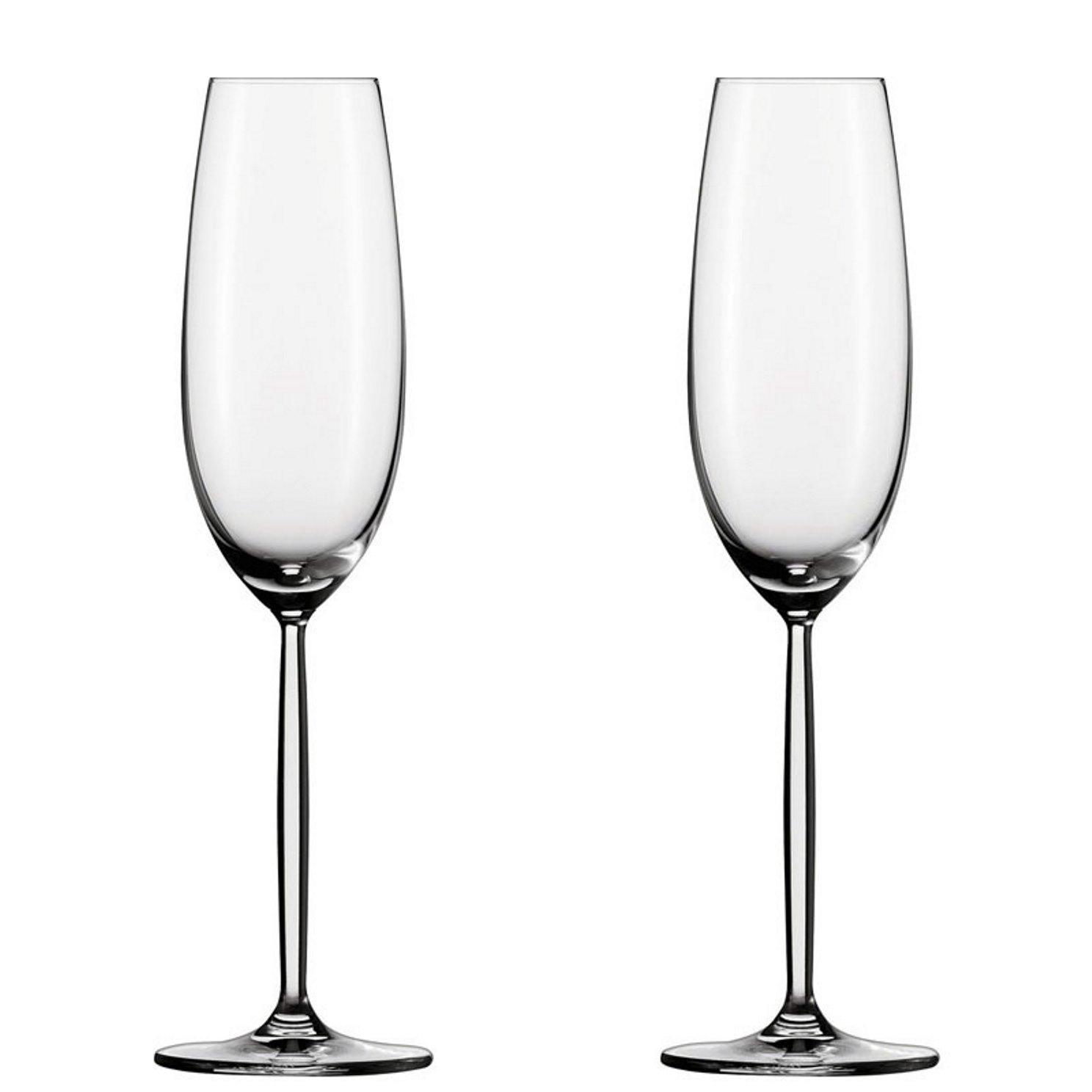 Онлайн каталог PROMENU: Набор бокалов для игристого вина Schott Zwiesel DIVA PROMO, объем 0,279 л, прозрачный, 2 штуки                               121205
