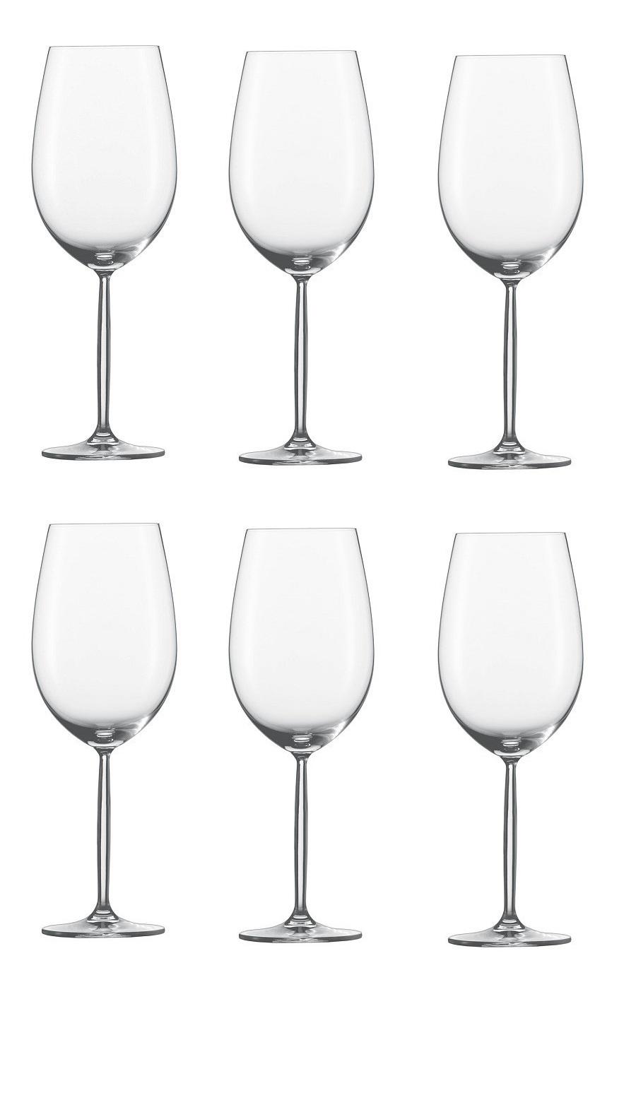 Онлайн каталог PROMENU: набор бокалов для красного вина_Bordeaux 0,800 л 6 шт                               104102_6шт