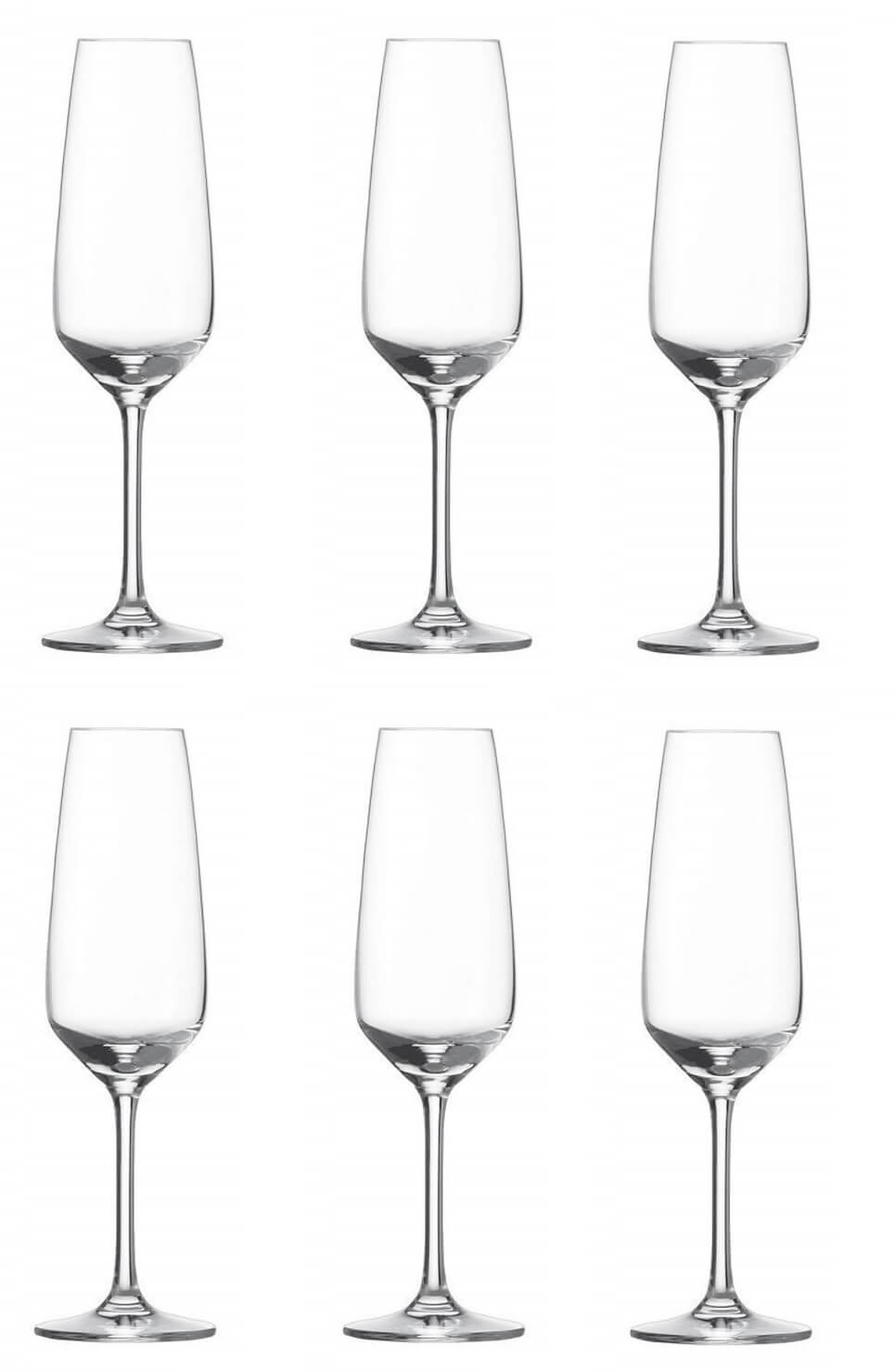 Онлайн каталог PROMENU: Набор бокалов для шампанского Schott Zwiesel Taste, объем 0,283 л, 6 шт.                               115674_6шт