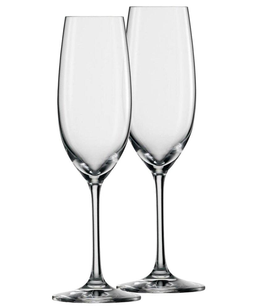 Онлайн каталог PROMENU: Набор бокалов для шампанского Schott Zwiesel ELEGANCE, TRITAN ®, объем 0,228 л, прозрачный, 2 штуки                               118540