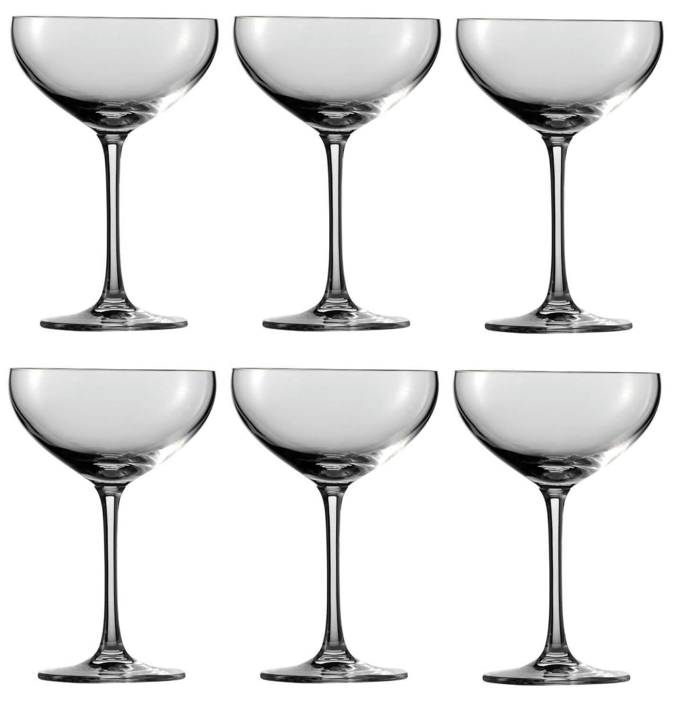 Онлайн каталог PROMENU: Набор бокалов для шампанского блюдце Schott Zwiesel Bar Special, объем 0,281 л, 6 шт.                               111219_6шт
