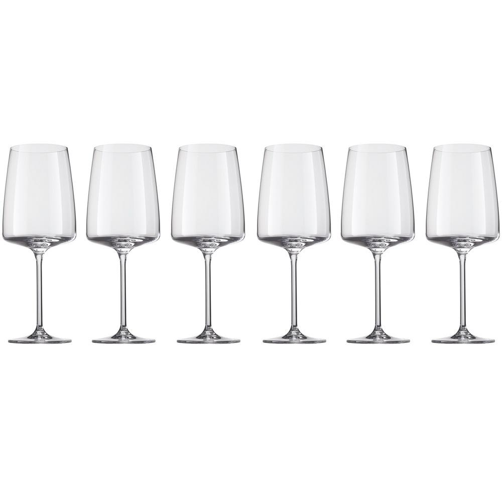 Онлайн каталог PROMENU: Набор бокалов для красного/белого вина Schott Zwiesel SENSA, объем 0,66 л, прозрачный, 6 штук Schott Zwiesel 120593_6шт