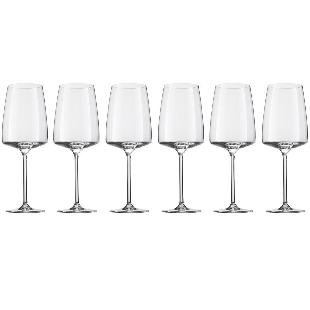 Онлайн каталог PROMENU: Набор бокалов для красного вина Schott Zwiesel Sensa, объем 0,535 л, 6 шт.                               120586_6шт