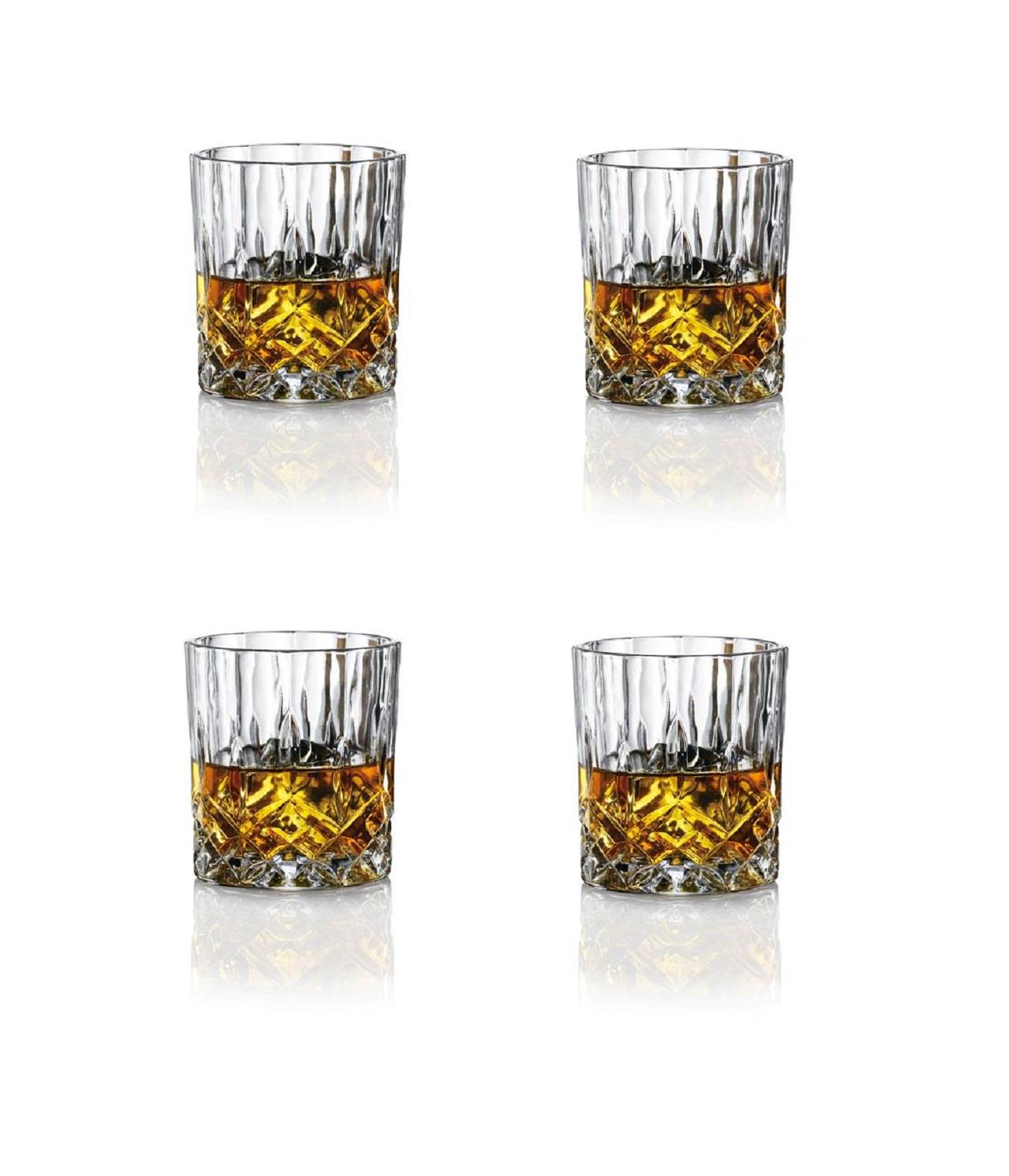 Онлайн каталог PROMENU: Набор бокалов для виски Aida HARVEY, объем 0,31 л, 8,5х9,2 см, прозрачный, 4 штуки                               80313
