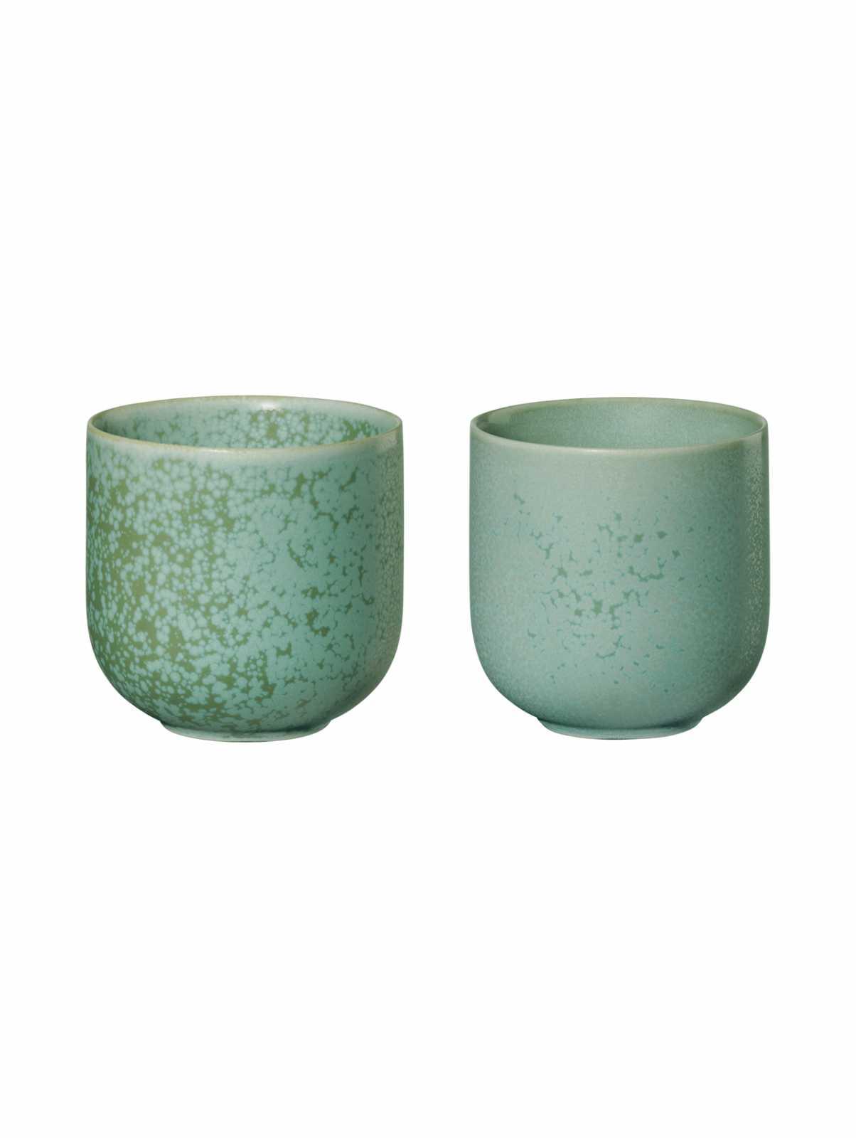 Набор фарфоровых чашек  ASA Selection COPPA, объем 0,15 л, 2 шт, ментоловый ASA Selection 19081191 фото 0