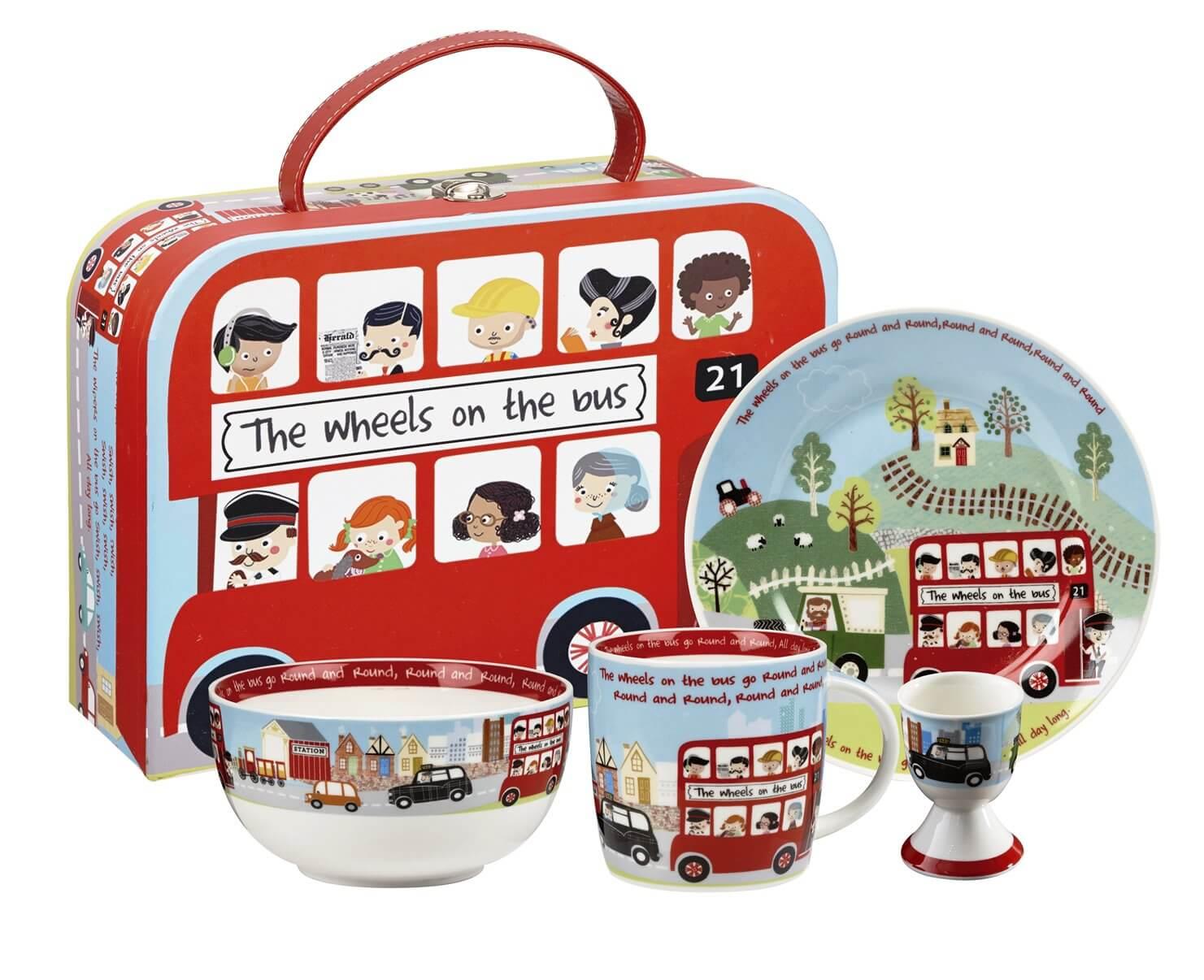 Онлайн каталог PROMENU: Набор детский в чемодане Churchill, 4 предмета Churchill WHEE00011