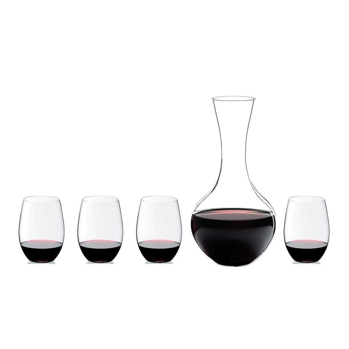 Онлайн каталог PROMENU: Набор для вина O RIEDEL _4 бокала для Cabernet O + Decanter, 5 шт Riedel 5414/30
