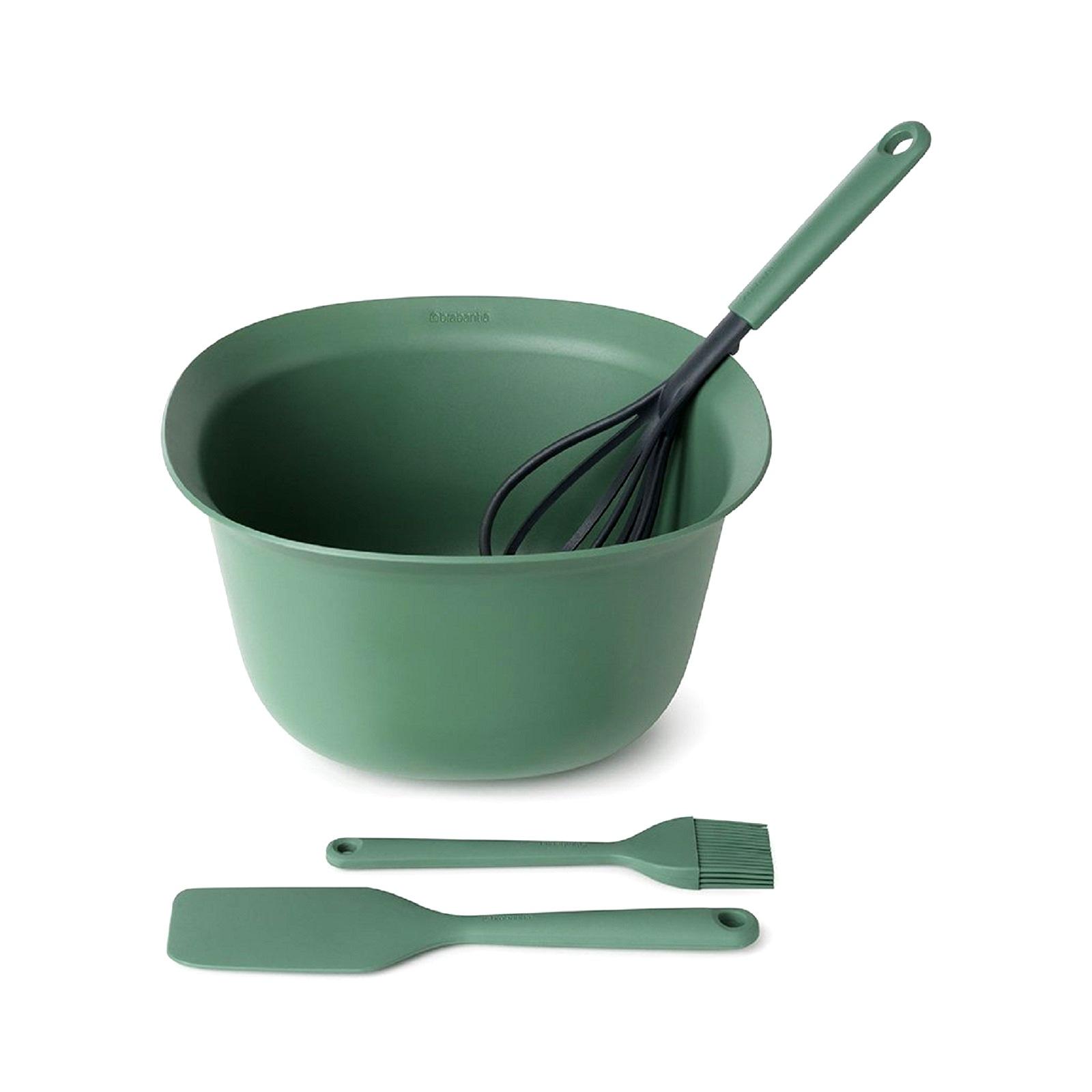 Онлайн каталог PROMENU: Набор для выпечки Brabantia TASTY+ BAKE & MIX, зеленый, 4 предмета  123207