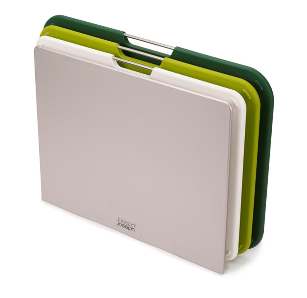 Онлайн каталог PROMENU: Набор досок разделочных с подставкой Joseph Joseph NEST, 25,9x35,5x7,2 см, зеленый, 3 предмета                               60164