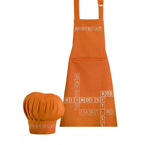 Онлайн каталог PROMENU: Набор: фартук с колпаком Winkler KITCHEN SELECTION, оранжевый, 2 предмета Winkler 8454045102