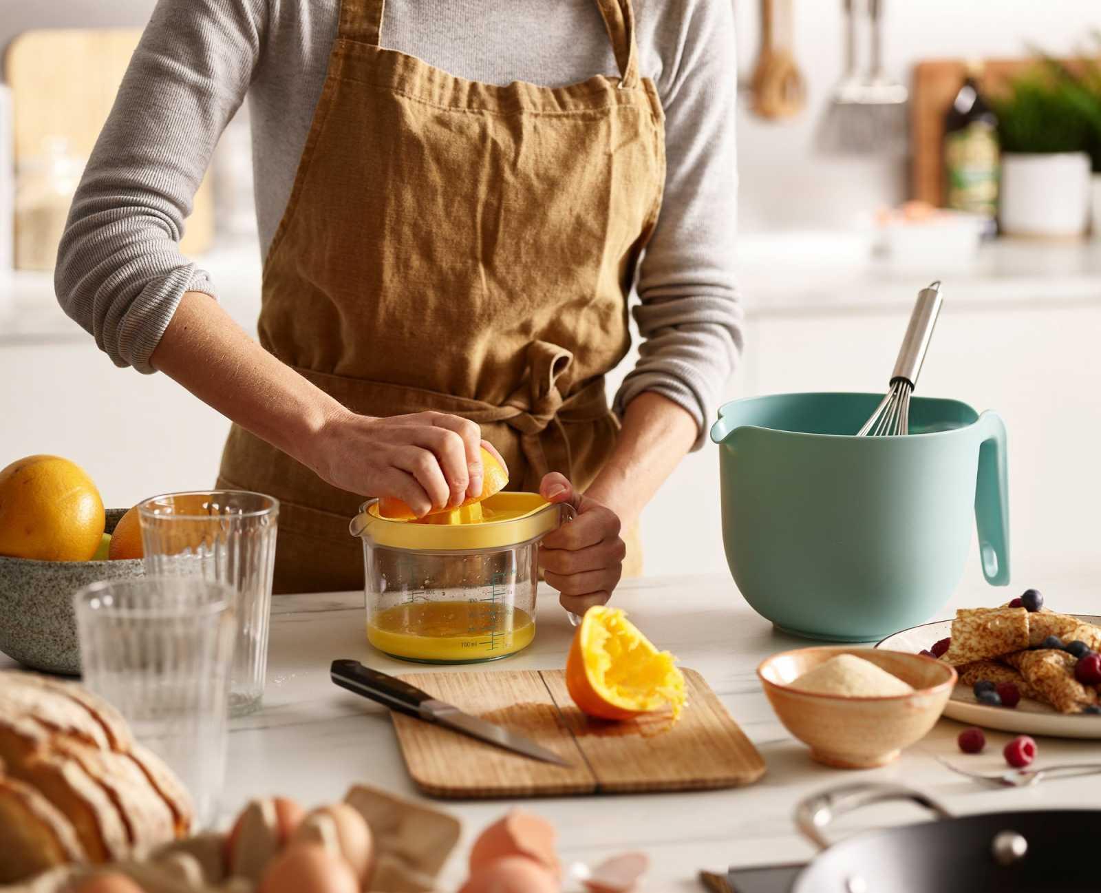 Набор кухонной посуды Joseph Joseph NEST, 3 предмета, желто-голубой Joseph Joseph 40110 фото 4