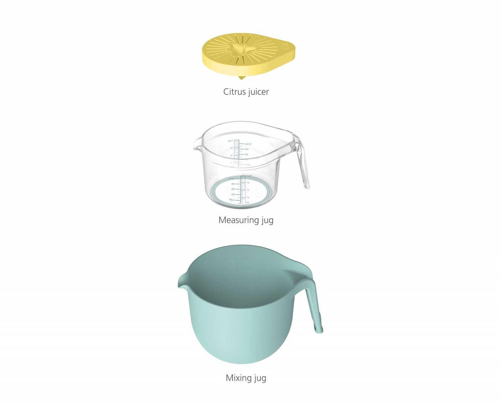 Набор кухонной посуды Joseph Joseph NEST, 3 предмета, желто-голубой Joseph Joseph 40110 фото 1