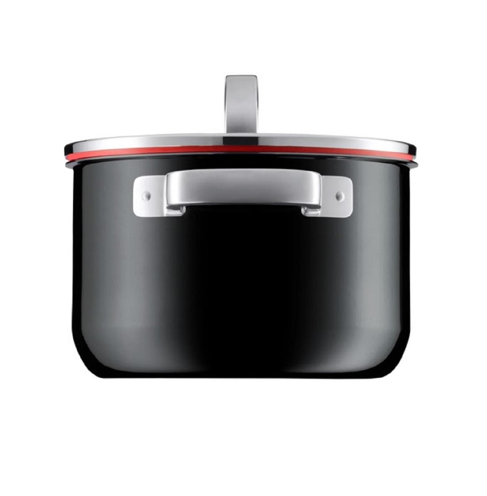 Набор кухонной посуды WMF FUSIONTEC MINERAL, черный, 4 предмета WMF 05 1740 5290 фото 1