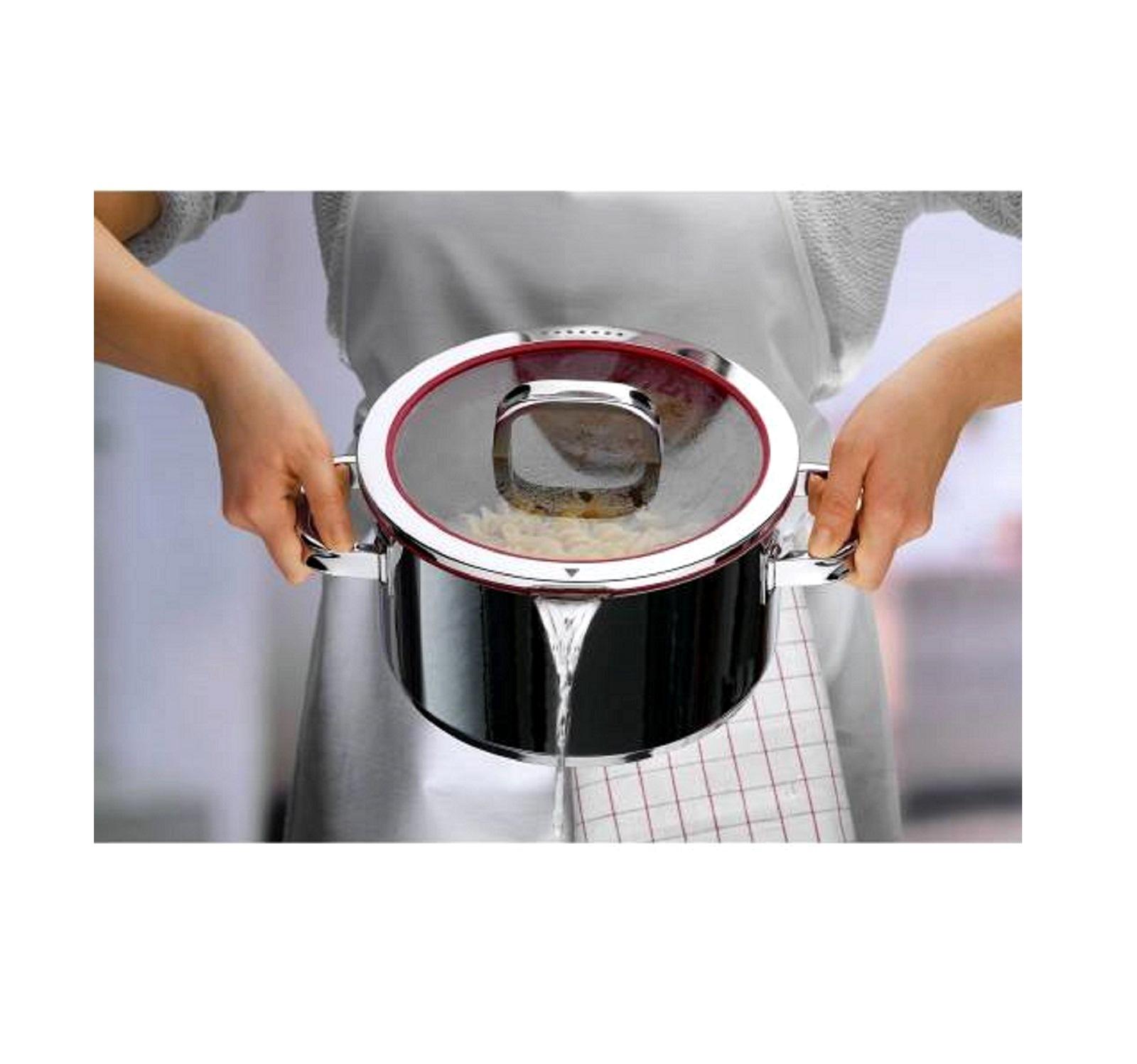 Набор кухонной посуды WMF FUSIONTEC MINERAL, черный, 4 предмета WMF 05 1740 5290 фото 4