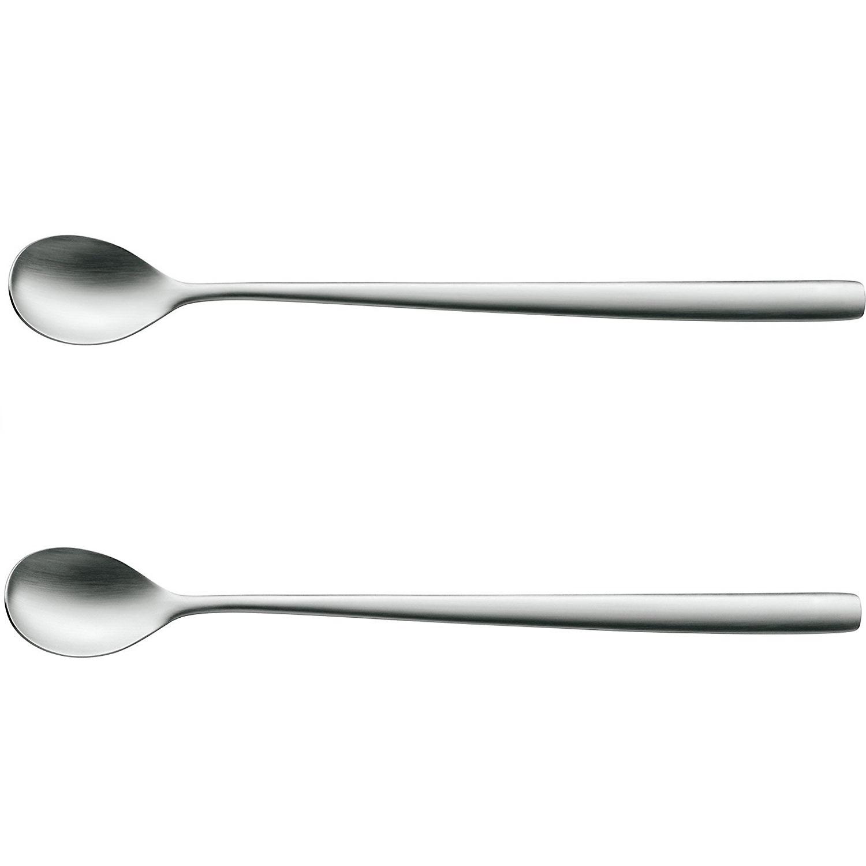 Онлайн каталог PROMENU: Набор ложек для коктейля WMF PREGO, серебристый, 2 штуки WMF 12 8470 6030