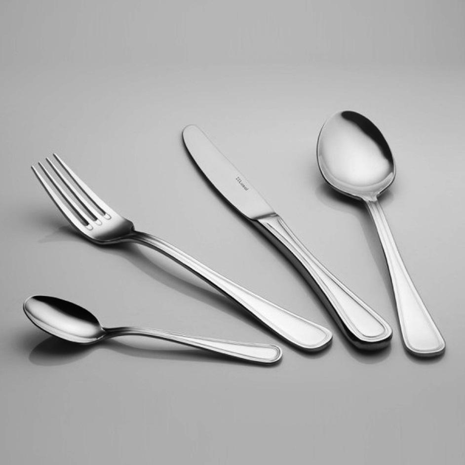 Набор ножей столовых Lusol AVALON, длина 23,4 см, серебристый, 6 штук Lusol 132022 фото 2