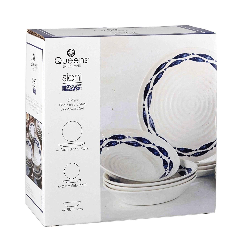 Онлайн каталог PROMENU: Набор посуды столовой Churchill SIENI, 12 предметов                                   COUT01121
