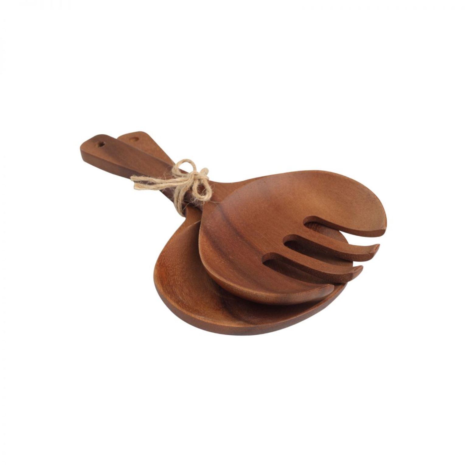 Онлайн каталог PROMENU: Набор приборов для салата T & G TUSCANY Siena, длина 24 см, дерево, бежевый, 2 предмета                               09126