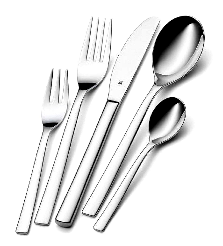 Онлайн каталог PROMENU: Набор приборов столовых WMF PALERMO, серебристый, 24 предмета WMF 11 7700 6043