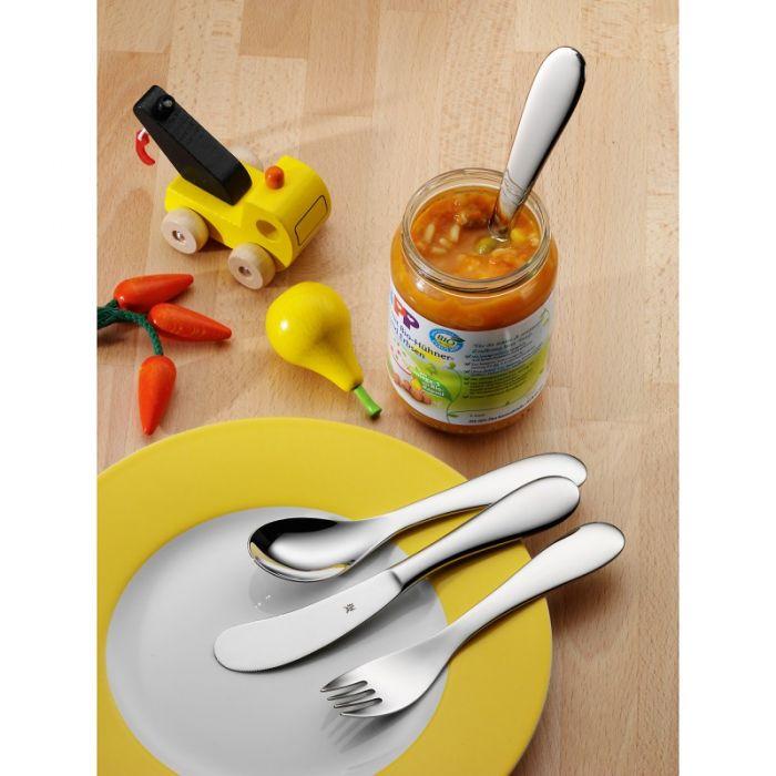 Набор приборов столовых детских WMF Knuddel, 3 предмета WMF 12 8583 6040 фото 2