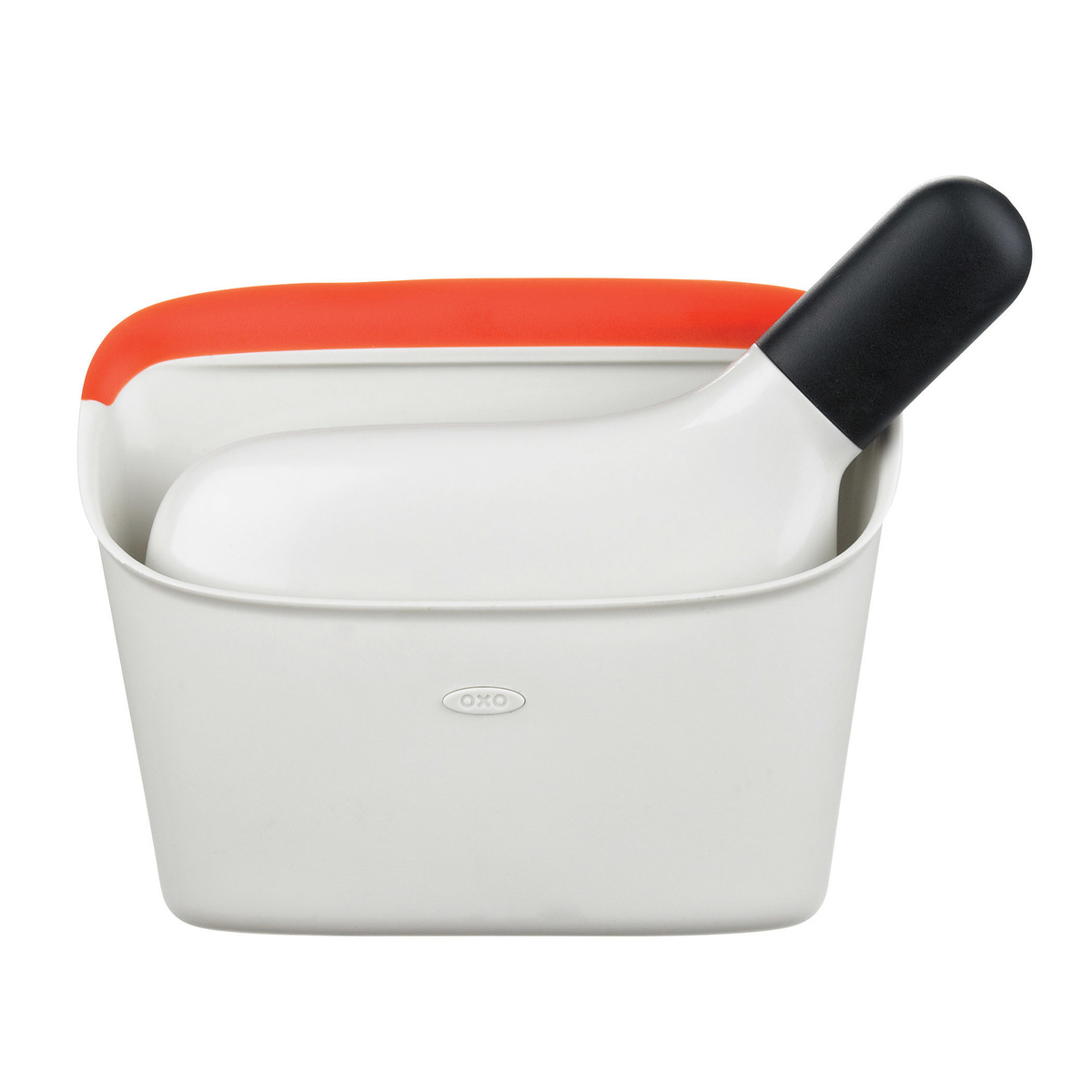 Онлайн каталог PROMENU: Набор щетка с контейнером OXO CLEANING, 4х19х14 см, белый, 2 предмета                                   1334280