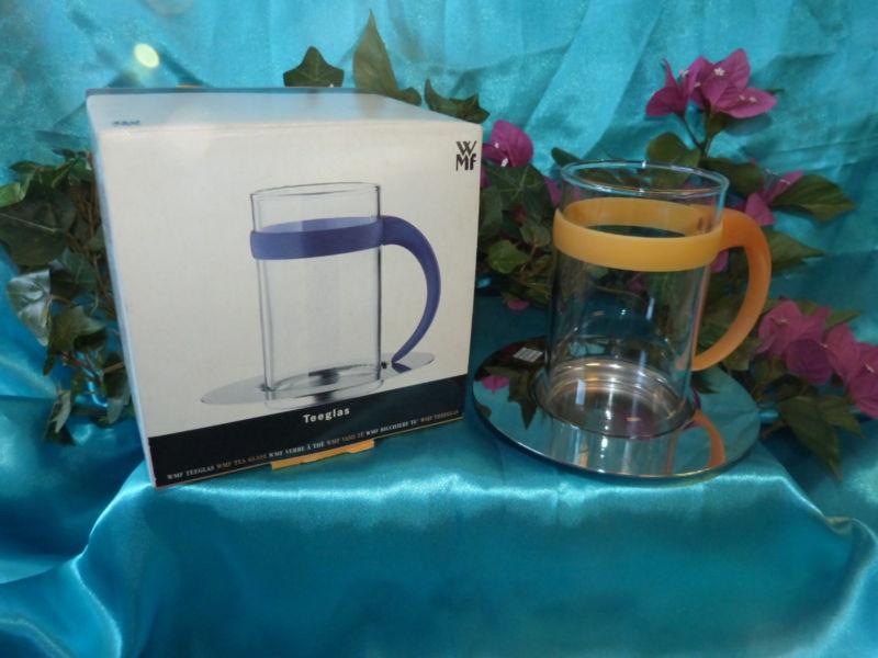 Набор стакан с костером WMF, прозрачный с серебристым, 2 предмета WMF 06 3612 6650 фото 2