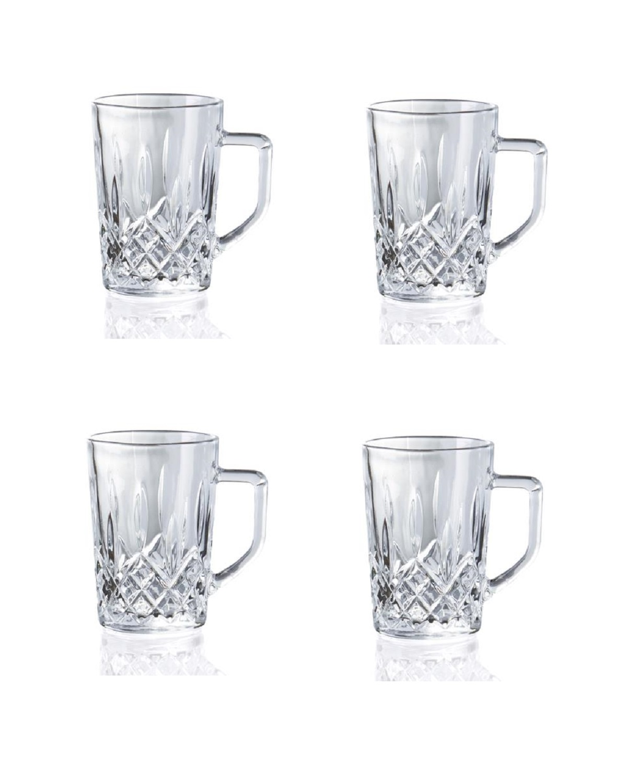 Онлайн каталог PROMENU: Набор стаканов с ручкой Aida HARVEY, объем 0,275 л, прозрачный, 4 штуки Aida 80318