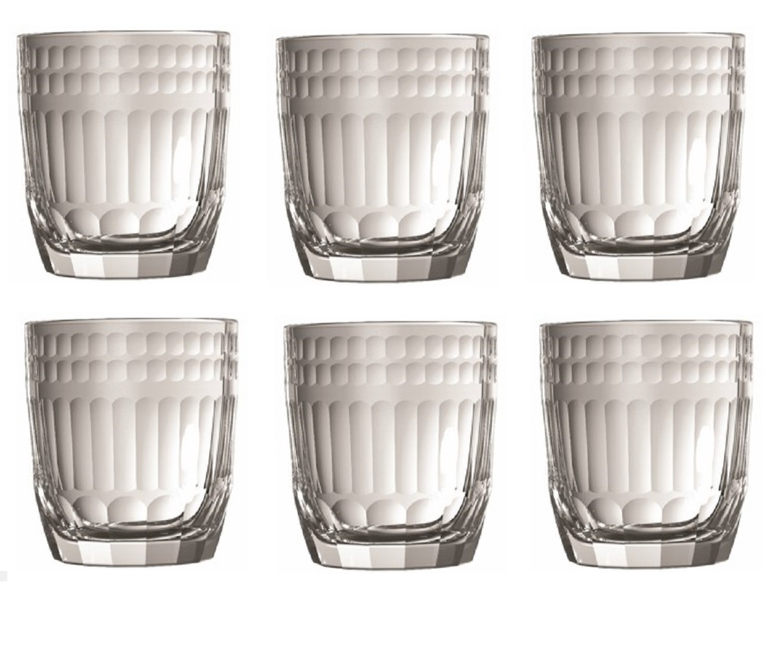 Онлайн каталог PROMENU: Набор стаканов Cote La Rochere CLAIREY, 0,28 л, высота 8,9 см, прозрачный, 6 штук La Rochere 690401_6