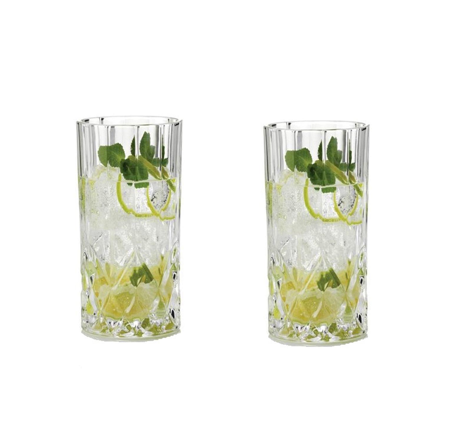Онлайн каталог PROMENU: Набор стаканов Aida HARVEY, объем 0,36 л, прозрачный, 2 штуки Aida 80310