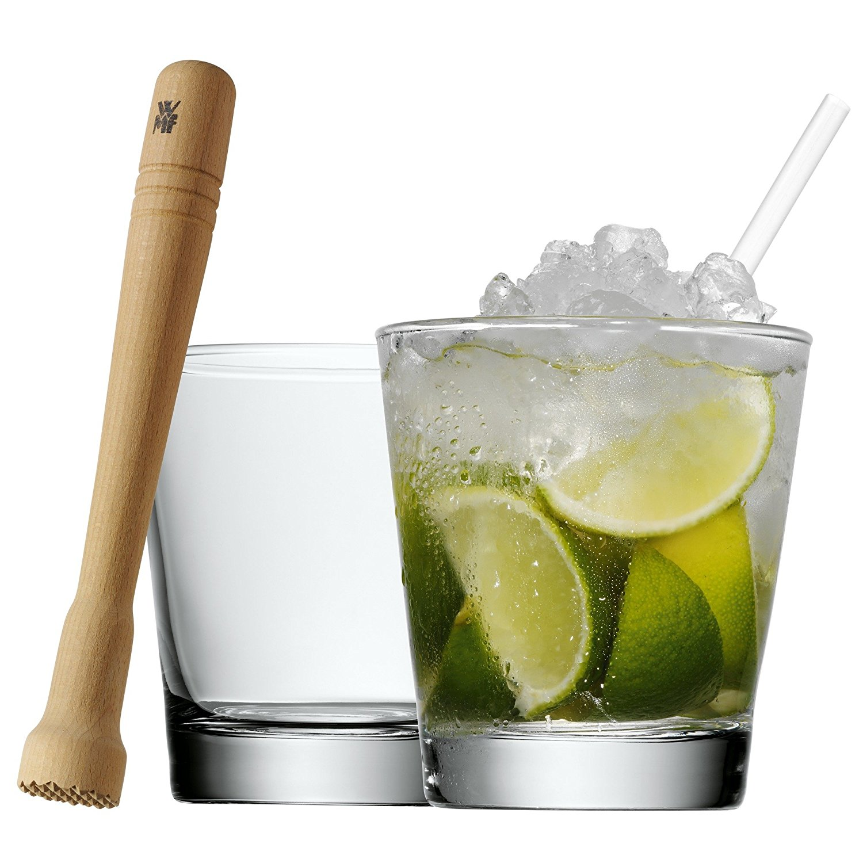 Онлайн каталог PROMENU: Набор стаканов с мадлером и трубочками для коктейля WMF, прозрачный WMF 09 9613 2040