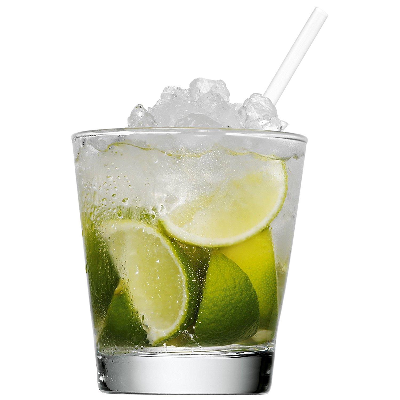 Набор стаканов с мадлером и трубочками для коктейля WMF, прозрачный WMF 09 9613 2040 фото 3
