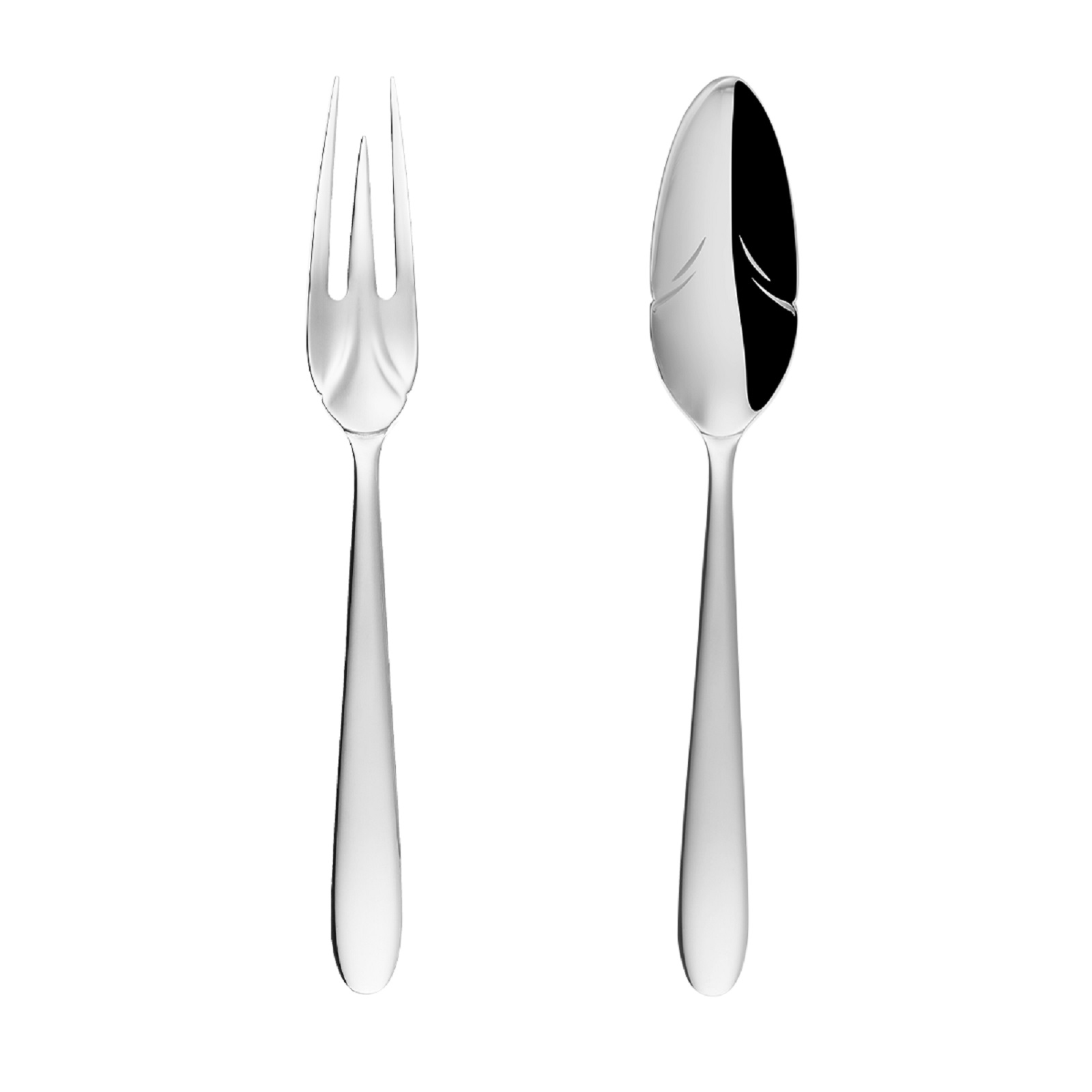 Онлайн каталог PROMENU: Набор столовых приборов Sola Switzerland Vegan, серебристый, 2 предмета Sola Switzerland 116537