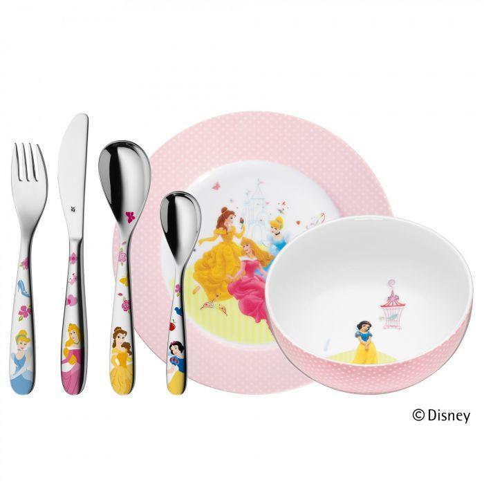 Онлайн каталог PROMENU: Набор посуды детский WMF PRINCESS, 6 предметов, разноцветный WMF 12 8240 9964