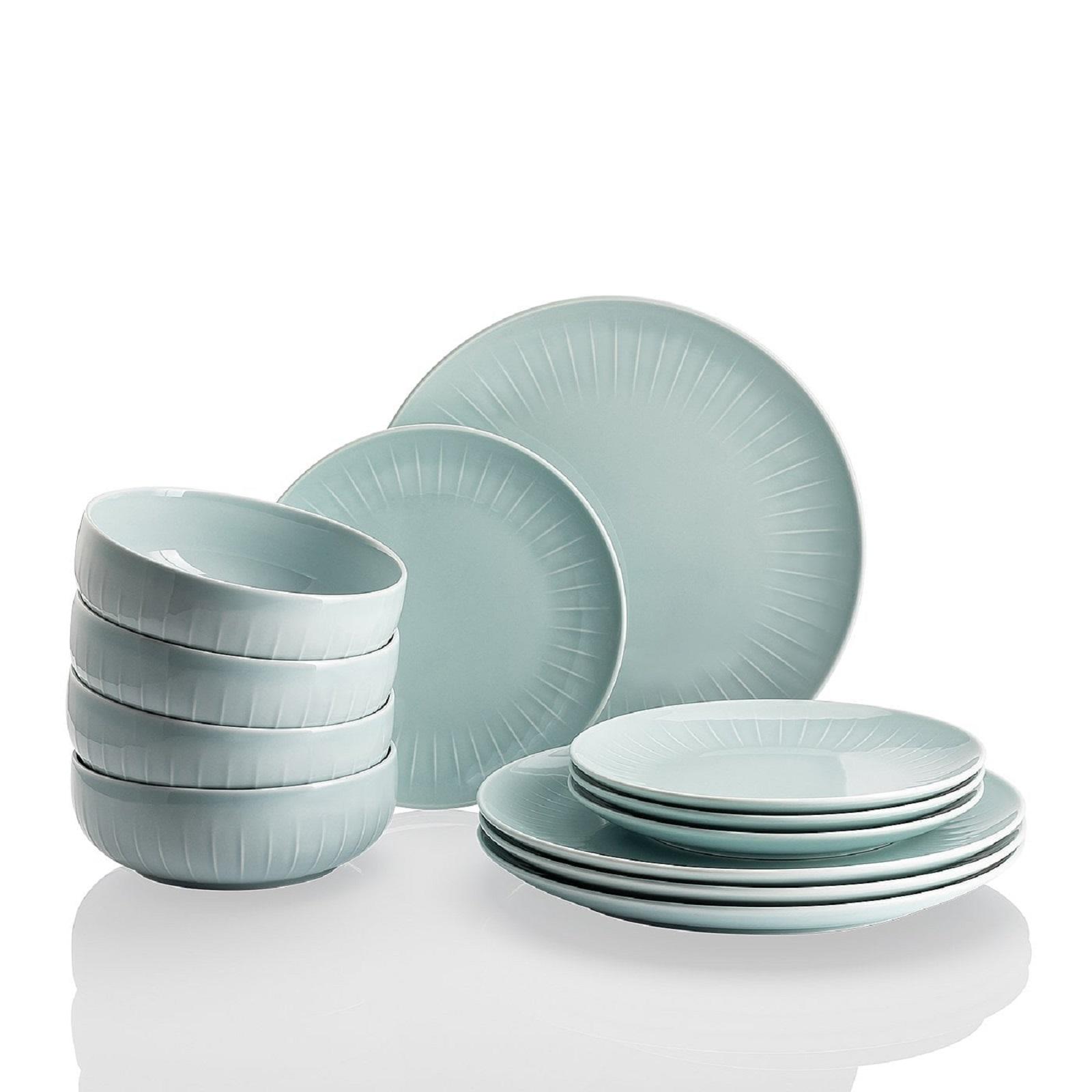 Набор посуды столовой Arzberg JOYN, ментоловый, 12 предметов Arzberg 44020-640206-28650 фото 1