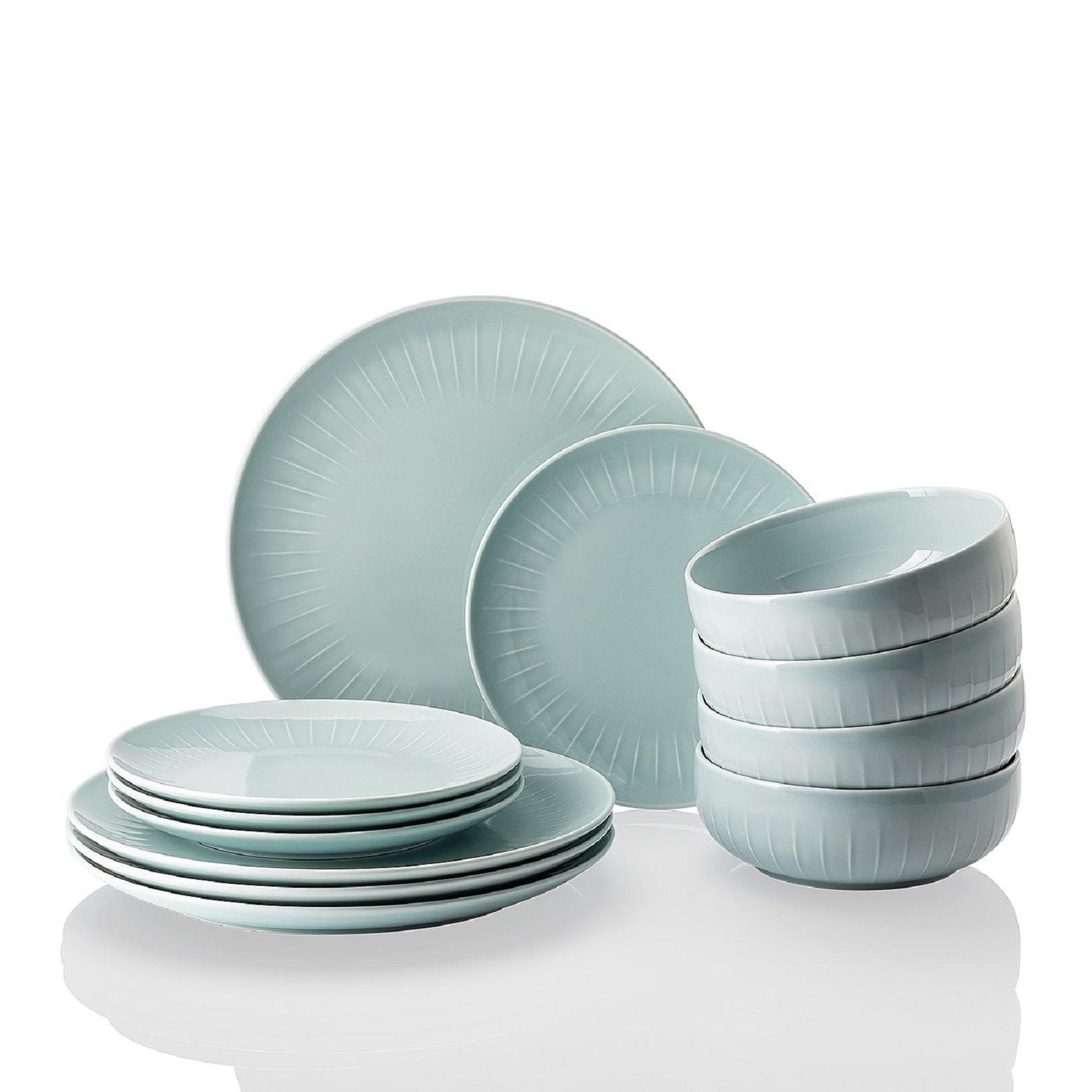 Онлайн каталог PROMENU: Набор посуды столовой Arzberg JOYN, ментоловый, 12 предметов Arzberg 44020-640206-28650