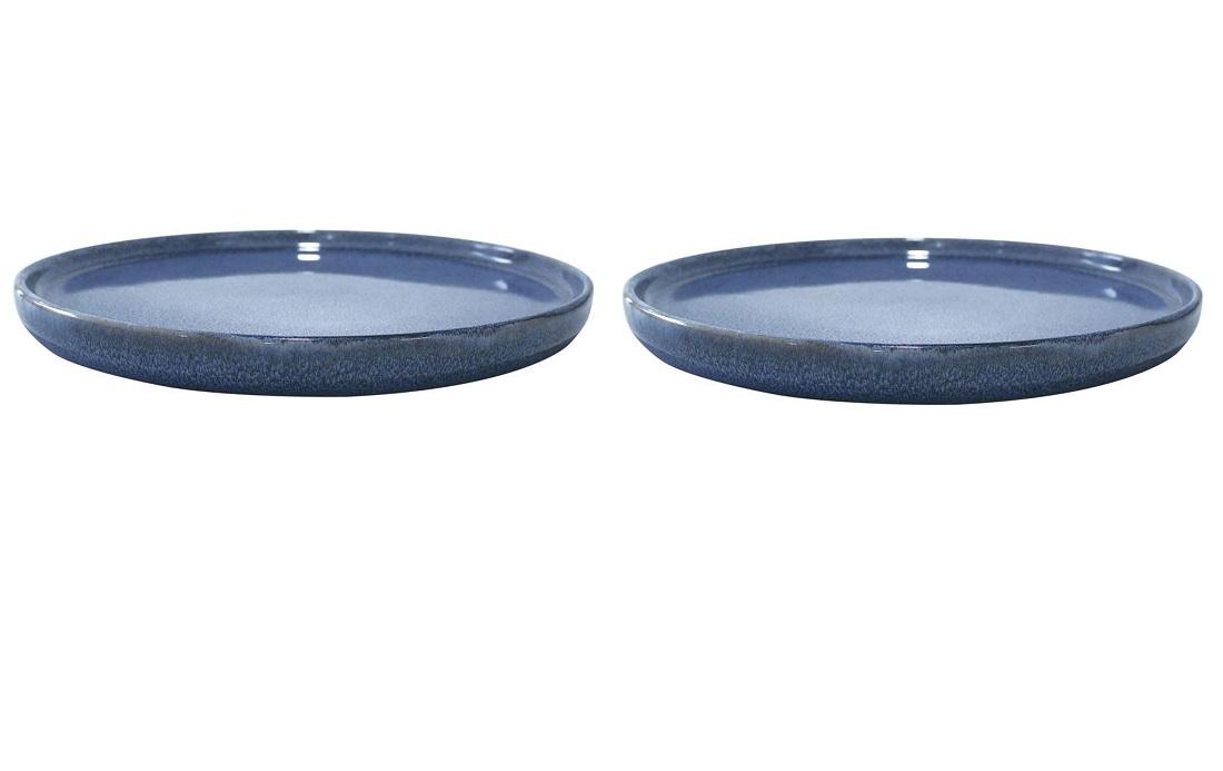 Онлайн каталог PROMENU: Набор тарелок Aida SOHOLM SONJA, диаметр 21 см, керамика, синий, 2 штуки                                   16286