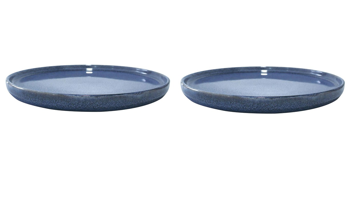 Онлайн каталог PROMENU: Набор тарелок обеденных Aida SOHOLM SONJA, диаметр 27 см, керамика, синий, 2 штуки                                   16283