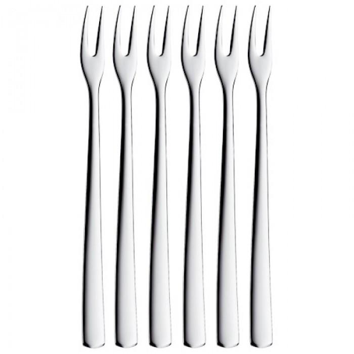 Онлайн каталог PROMENU: Набор вилок для коктейля WMF BISTRO, серебристый, 6 штук WMF 12 8864 6040