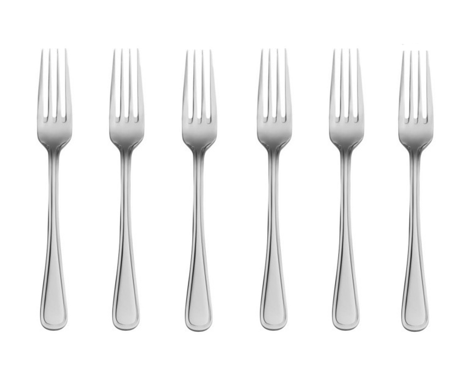 Онлайн каталог PROMENU: Набор вилок столовых Lusol AVALON, длина 20 см, серебристый, 6 штук Lusol 132021